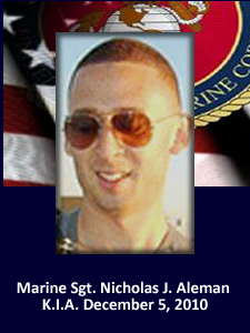 Marine Sgt. Nicholas J. ALeman | American Hero | God Bless The Troops