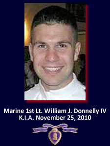 We Remember Marine 1st Lt. William Donnelly
