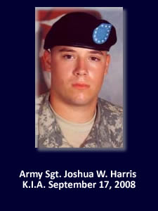 Army Sgt. Joshua W. Harris | Illinois Hero | God Bless The Troops