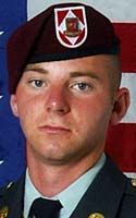 Fallen Hero Army Spc. Matthew J. Johnson