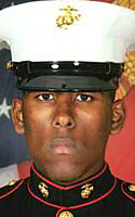 Marine Lcpl. Raymon L.A. Johnson Remembered