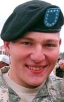 Fallen Hero Army Pvt. James F. McClamrock