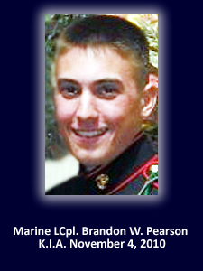God Bless The Troops Honors Marine Lcpl. Brandon Pearson