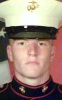 Marine Lcpl. Christopher B. Rodgers